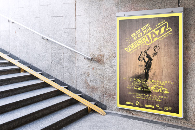 Affiche «Vercojazz» 2016
